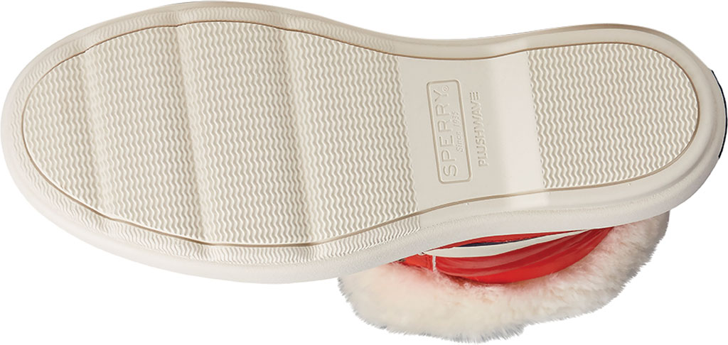 Women's Sperry Top-Sider Bearing PLUSHWAVE Nautical Stripe Nylon Mid Boot, Red Quilted Nylon, large, image 6