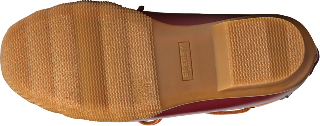 Women's Sperry Top-Sider Saltwater 1-Eye Leather Duck Boot, Tan Leather/Rubber, large, image 6