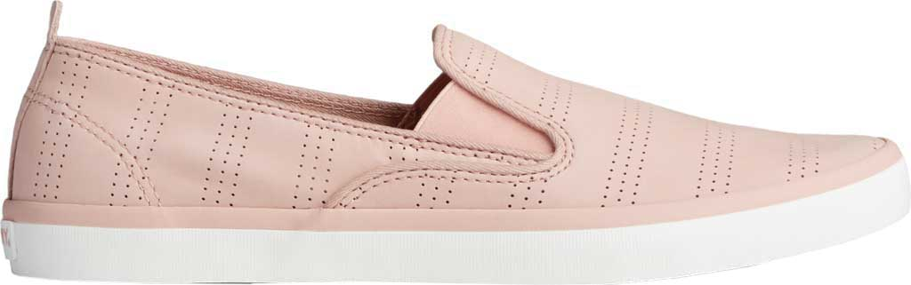 Women's Sperry Top-Sider Sailor Twin Gore Perforated Nubuck Slip On Sneaker, Blush Nubuck, large, image 2