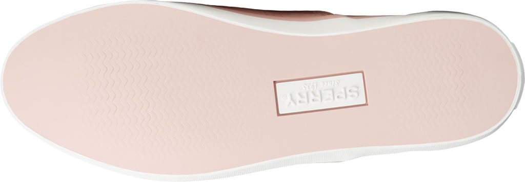 Women's Sperry Top-Sider Sailor Twin Gore Perforated Nubuck Slip On Sneaker, Blush Nubuck, large, image 6