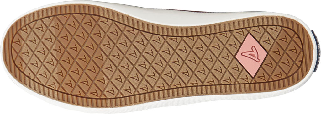 Women's Sperry Top-Sider Crest Vibe Seasonal Twill Sneaker, Dusty Rose Twill, large, image 6