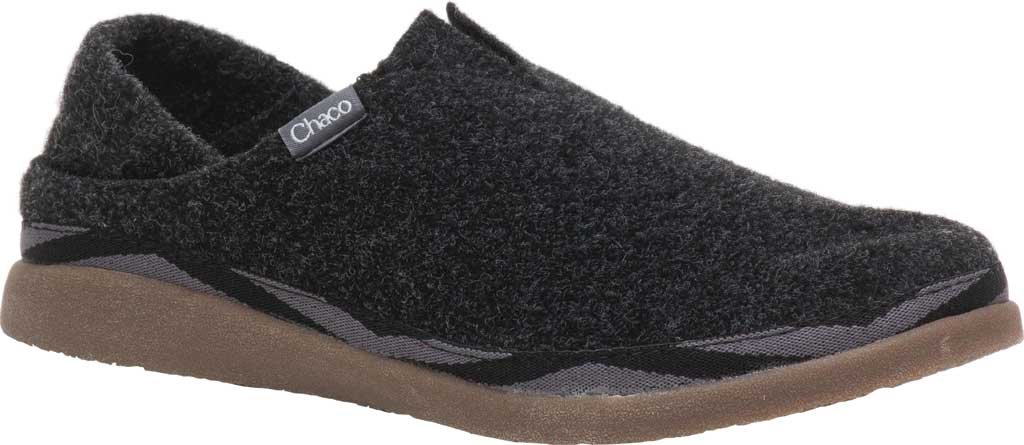 Women's Chaco Revel Slip On, Black Felt, large, image 1