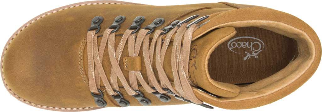 Women's Chaco Cataluna Explorer Waterproof Hiking Boot, Bronze Full Grain Leather, large, image 4