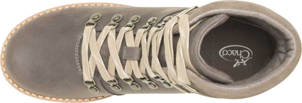 Women's Chaco Cataluna Explorer Waterproof Hiking Boot, Morel Brown Full Grain Leather, large, image 4