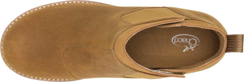 Women's Chaco Cataluna Explorer WP Chelsea Boot, Bronze Full Grain Leather, large, image 4