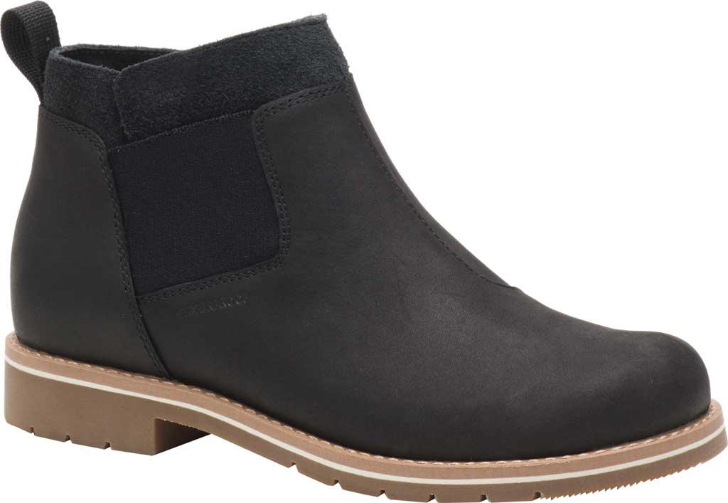 Women's Chaco Cataluna Explorer WP Chelsea Boot, Black Full Grain Leather, large, image 1