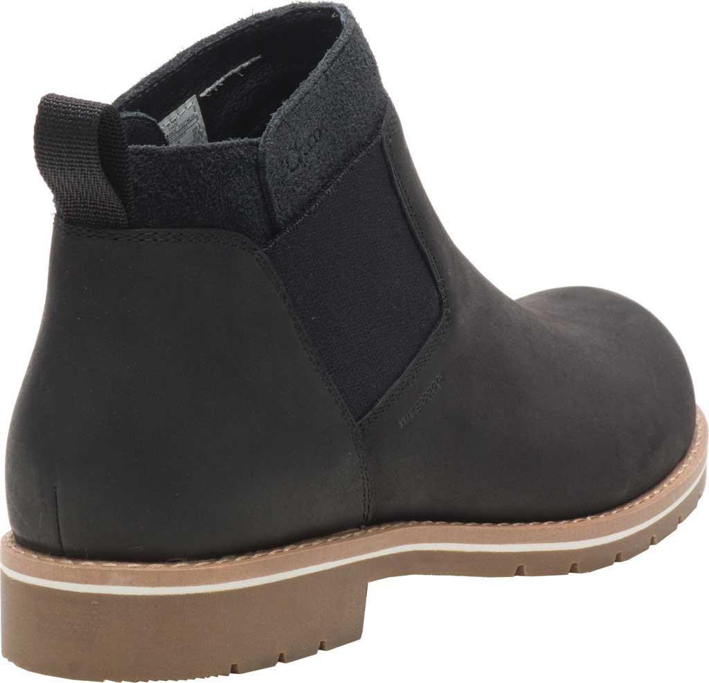 Women's Chaco Cataluna Explorer WP Chelsea Boot, Black Full Grain Leather, large, image 3