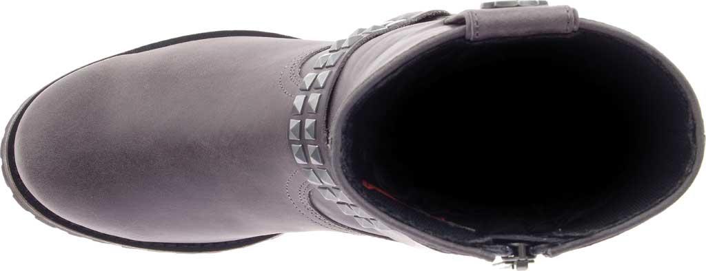 Women's Harley-Davidson Tamori Harness Bootie, Grey Full Grain Leather, large, image 5