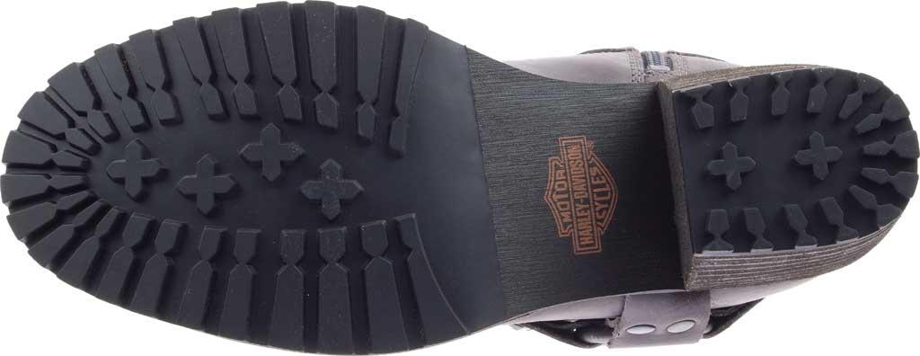 Women's Harley-Davidson Tamori Harness Bootie, Grey Full Grain Leather, large, image 6