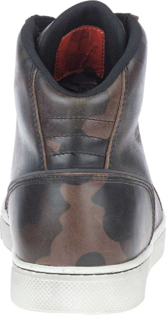 Men's Harley-Davidson Bateman Motorcycle Boot, Camo Full Grain Leather, large, image 4