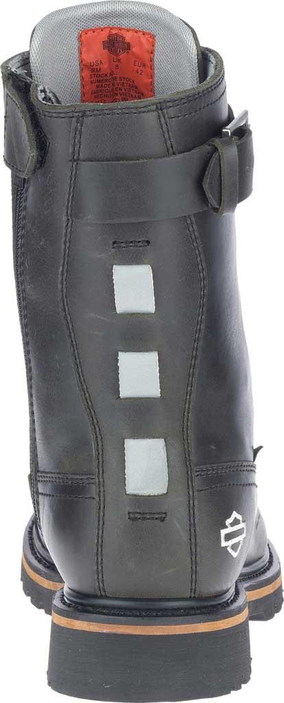 """Men's Harley-Davidson Brosner 8"""" Lace Waterproof Motorcycle Boot, Black Waterproof Full Grain Leather, large, image 4"""