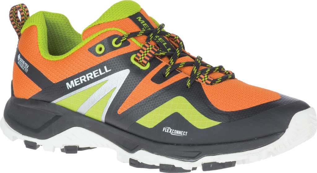 Men's Merrell MQM Flex 2 GORE-TEX Trail Running Sneaker, Black HV Waterproof Mesh, large, image 1