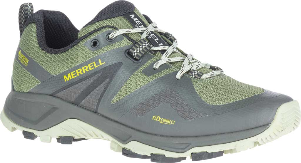 Men's Merrell MQM Flex 2 GORE-TEX Trail Running Sneaker, Lichen Waterproof Mesh, large, image 1