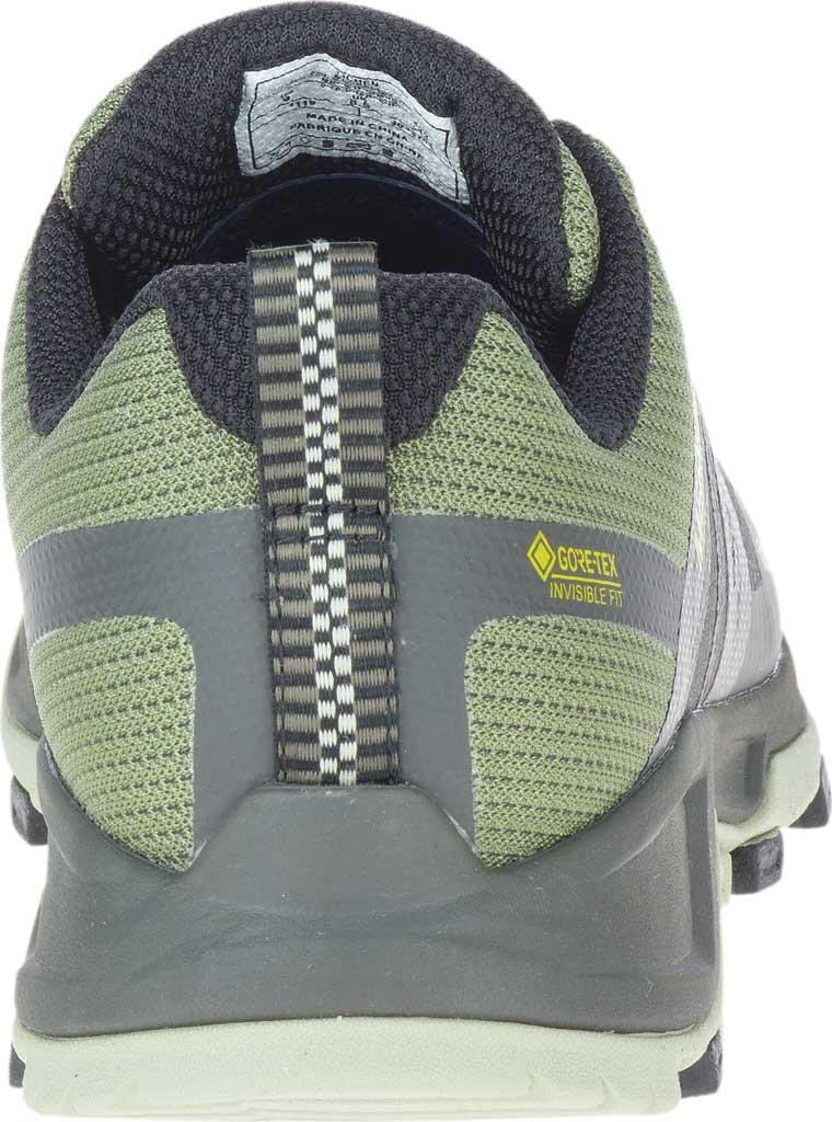 Men's Merrell MQM Flex 2 GORE-TEX Trail Running Sneaker, Lichen Waterproof Mesh, large, image 4