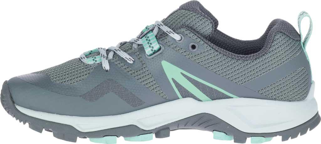 Women's Merrell MQM Flex 2 GORE-TEX Trail Running Sneaker, Rock/Wave Waterproof Mesh, large, image 3