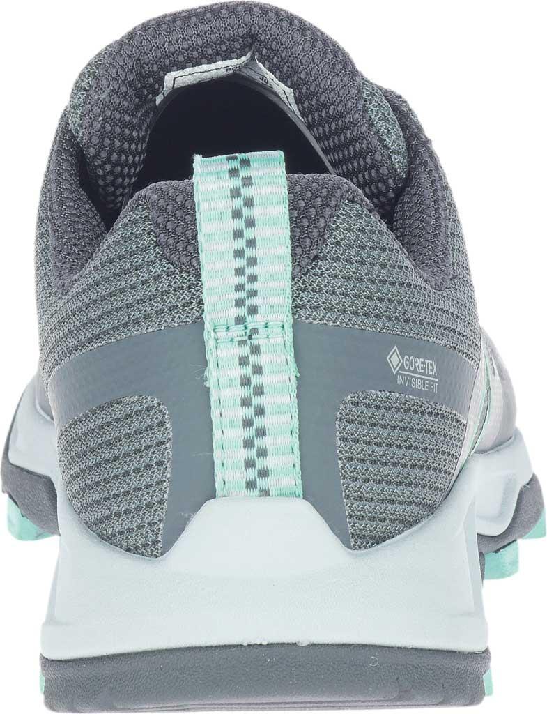 Women's Merrell MQM Flex 2 GORE-TEX Trail Running Sneaker, Rock/Wave Waterproof Mesh, large, image 4