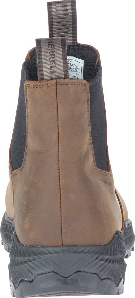 Men's Merrell Forestbound Chelsea Waterproof Boot, Clay Polyurethane Coated Leather/Mesh, large, image 4