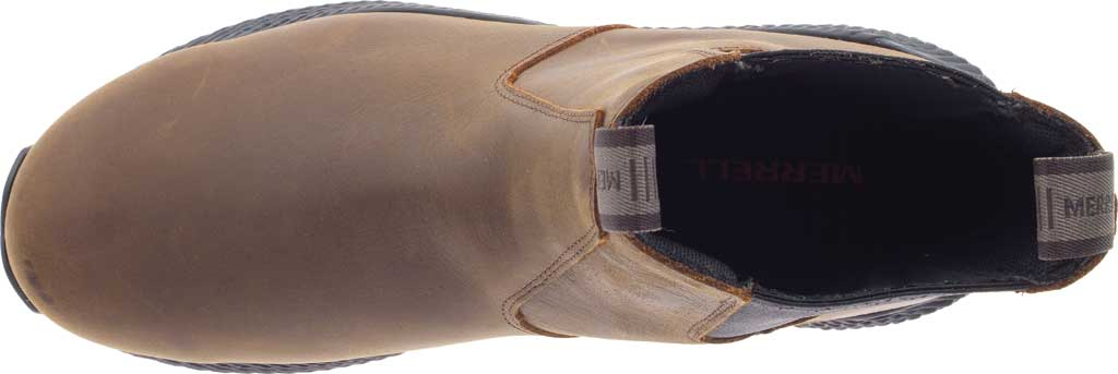 Men's Merrell Forestbound Chelsea Waterproof Boot, Clay Polyurethane Coated Leather/Mesh, large, image 5