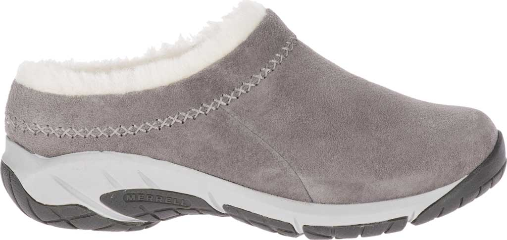 Women's Merrell Encore Ice 4 Slip On, Charcoal Pig Suede, large, image 2