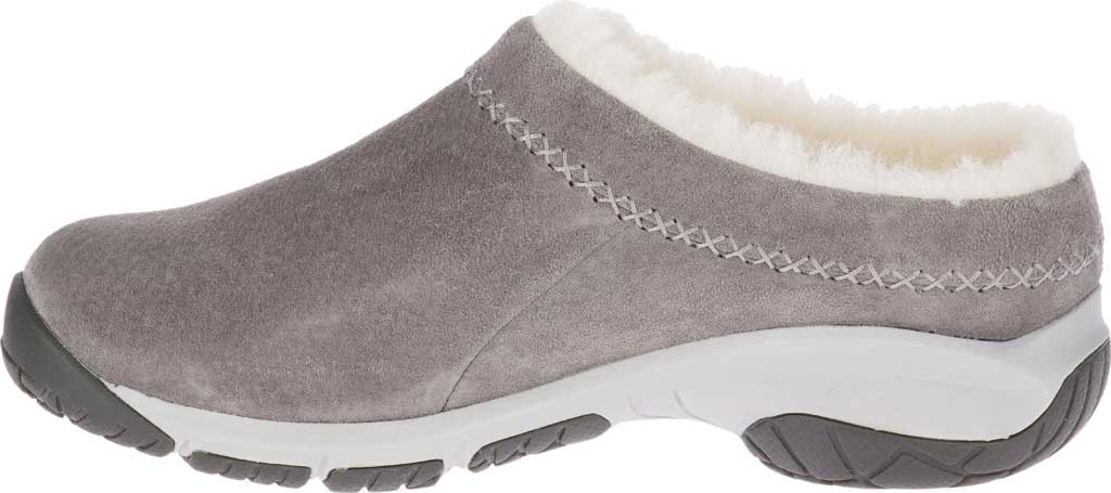 Women's Merrell Encore Ice 4 Slip On, Charcoal Pig Suede, large, image 3