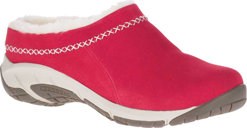 Women's Merrell Encore Ice 4 Slip On, Chili Pig Suede, large, image 1