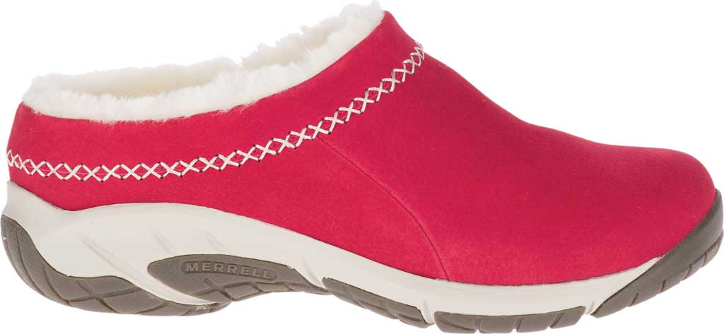 Women's Merrell Encore Ice 4 Slip On, Chili Pig Suede, large, image 2