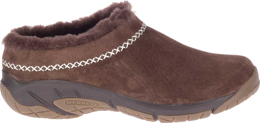 Women's Merrell Encore Ice 4 Slip On, Espresso Pig Suede, large, image 2