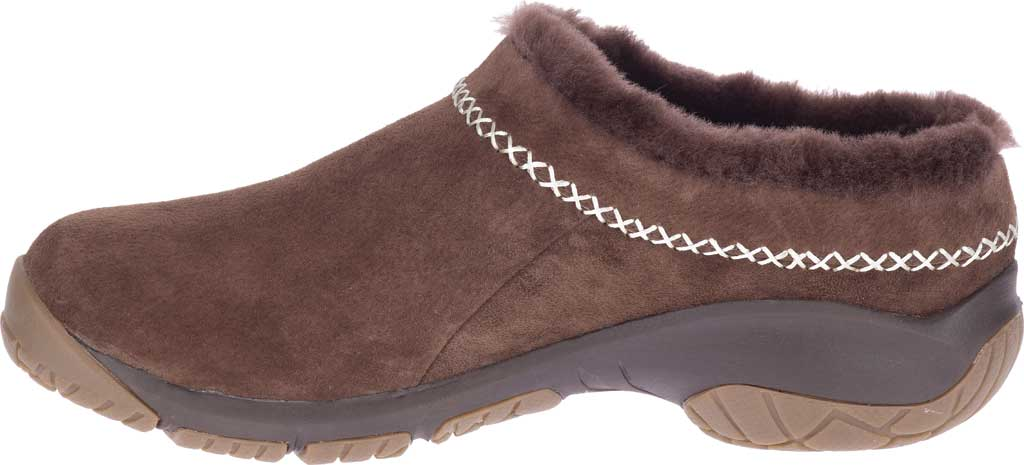 Women's Merrell Encore Ice 4 Slip On, Espresso Pig Suede, large, image 3