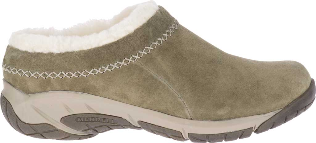 Women's Merrell Encore Ice 4 Slip On, Olive Pig Suede, large, image 2
