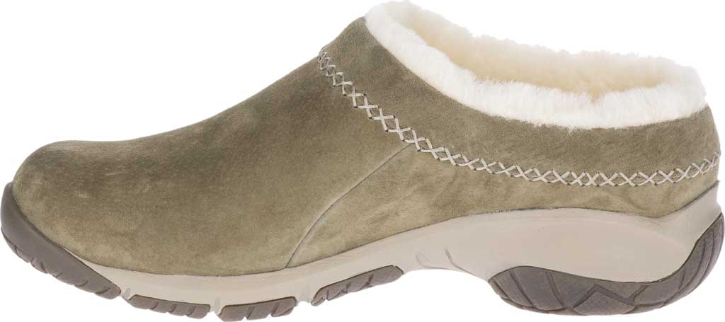Women's Merrell Encore Ice 4 Slip On, Olive Pig Suede, large, image 3