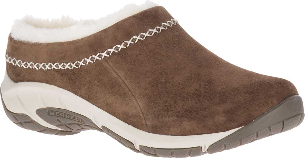 Women's Merrell Encore Ice 4 Slip On, Stone Pig Suede, large, image 1