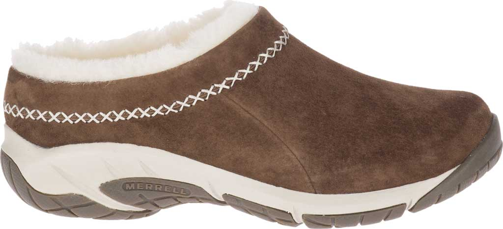 Women's Merrell Encore Ice 4 Slip On, Stone Pig Suede, large, image 2