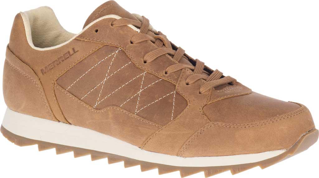 Men's Merrell Alpine Leather Sneaker, Tobacco Full Grain Leather, large, image 1