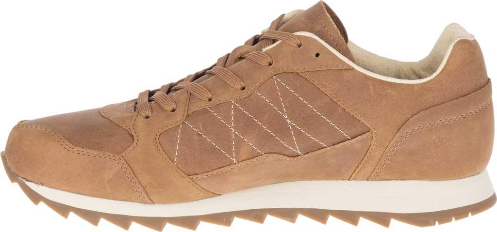 Men's Merrell Alpine Leather Sneaker, Tobacco Full Grain Leather, large, image 3