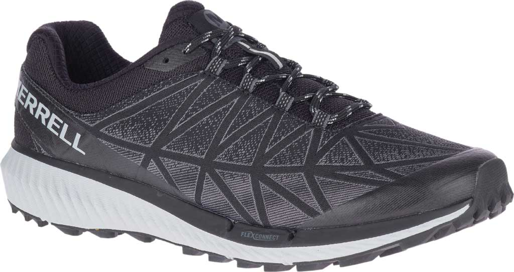Men's Merrell Agility Synthesis 2 Trail Running Sneaker, Black Jacquard Fabric/TPU, large, image 1