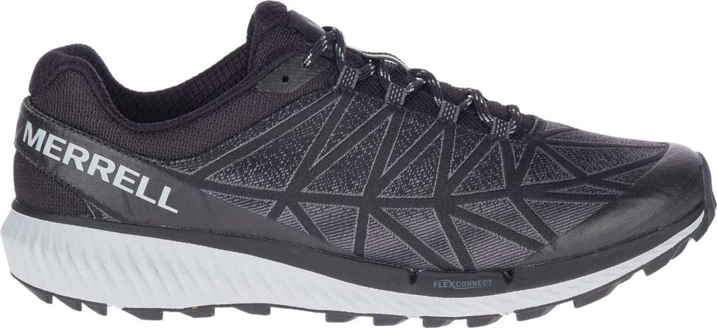 Men's Merrell Agility Synthesis 2 Trail Running Sneaker, Black Jacquard Fabric/TPU, large, image 2