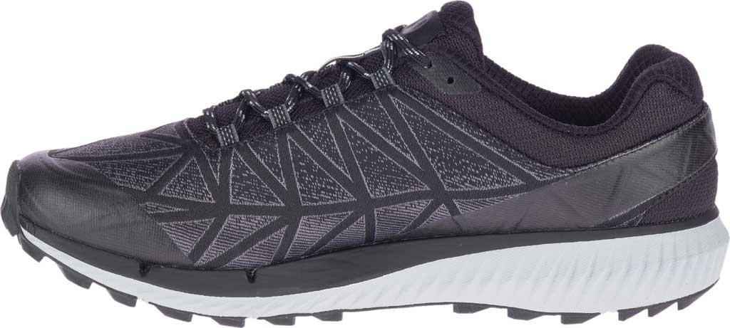 Men's Merrell Agility Synthesis 2 Trail Running Sneaker, Black Jacquard Fabric/TPU, large, image 3