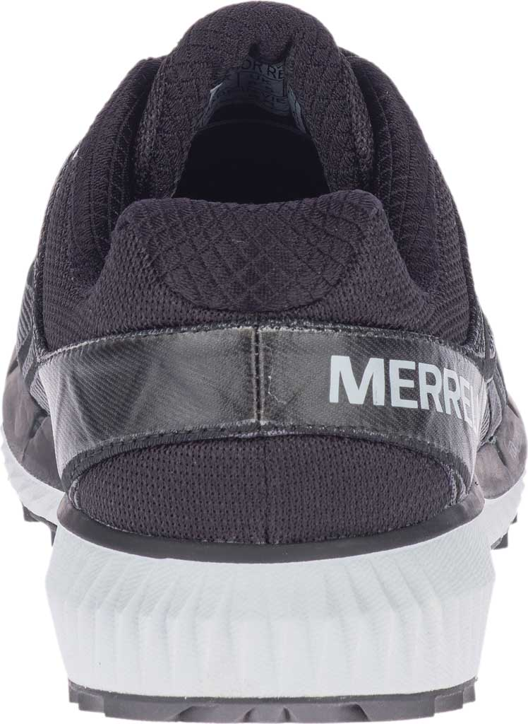 Men's Merrell Agility Synthesis 2 Trail Running Sneaker, Black Jacquard Fabric/TPU, large, image 4