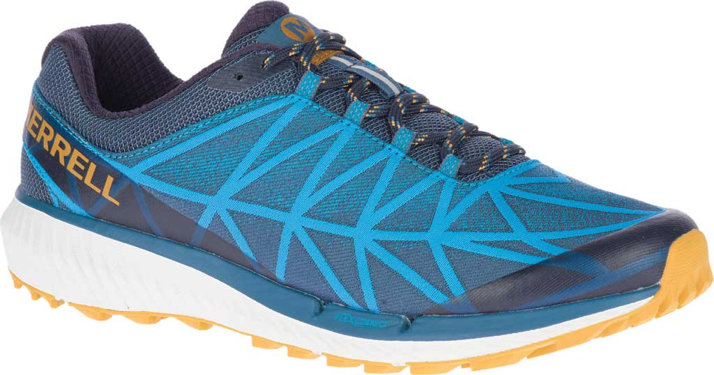 Men's Merrell Agility Synthesis 2 Trail Running Sneaker, Tahoe Jacquard Fabric/TPU, large, image 1