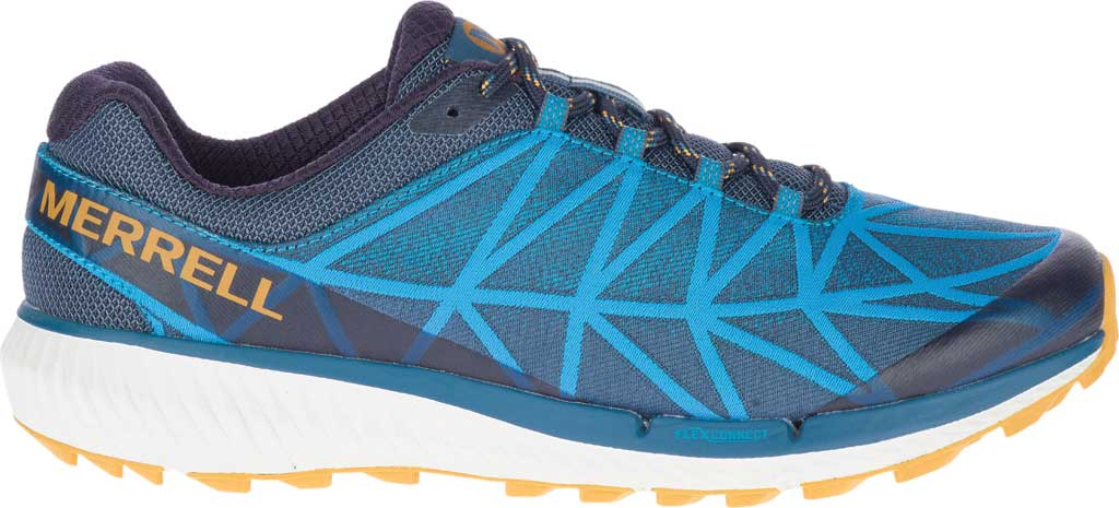 Men's Merrell Agility Synthesis 2 Trail Running Sneaker, Tahoe Jacquard Fabric/TPU, large, image 2