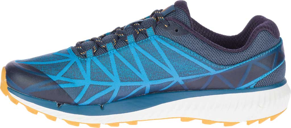 Men's Merrell Agility Synthesis 2 Trail Running Sneaker, Tahoe Jacquard Fabric/TPU, large, image 3