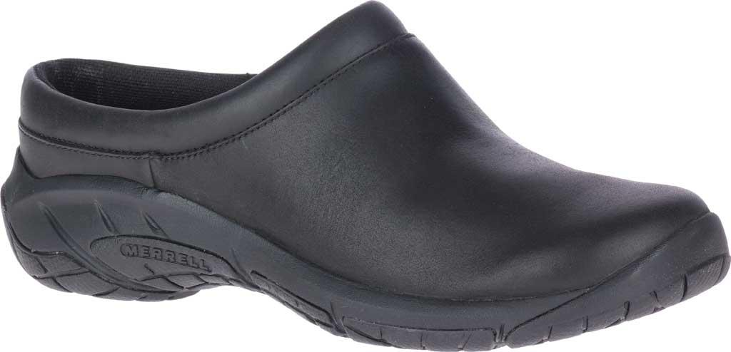 Women's Merrell Encore Nova 4 Slip On, Black Full Grain Leather, large, image 1