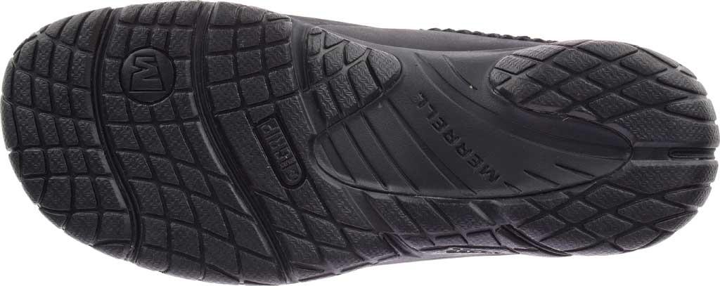 Women's Merrell Encore Ice 4 Leather Slip On, Smooth Black Full Grain Leather, large, image 6