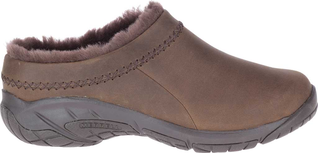 Women's Merrell Encore Ice 4 Leather Slip On, Smooth Espresso Full Grain Leather, large, image 2