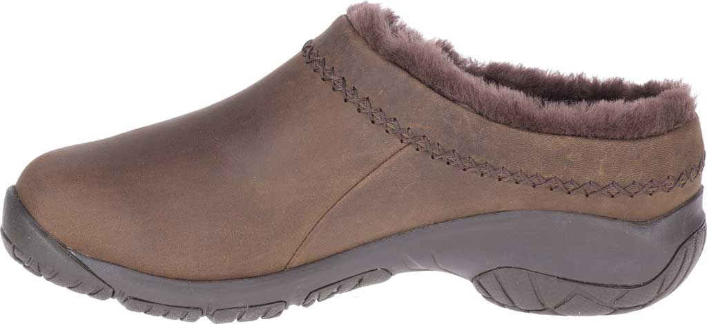 Women's Merrell Encore Ice 4 Leather Slip On, Smooth Espresso Full Grain Leather, large, image 3