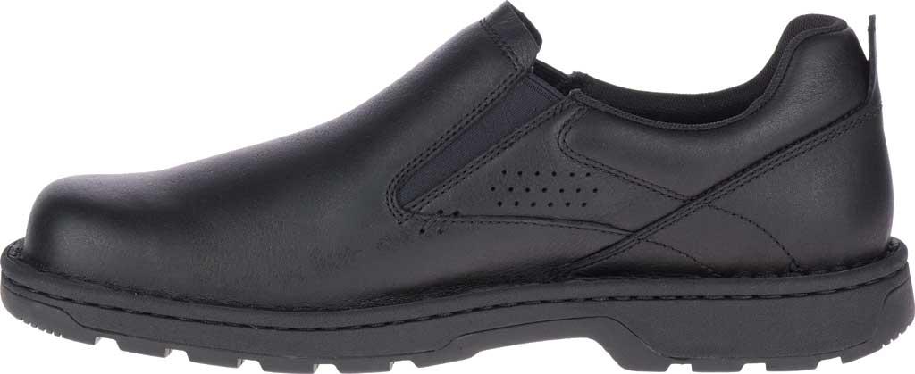 Men's Merrell World Legend 2 Moc Slip On, Black Polish Full Grain Leather, large, image 3