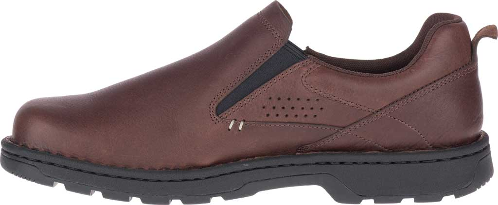 Men's Merrell World Legend 2 Moc Slip On, Chocolate Polish Full Grain Leather, large, image 3