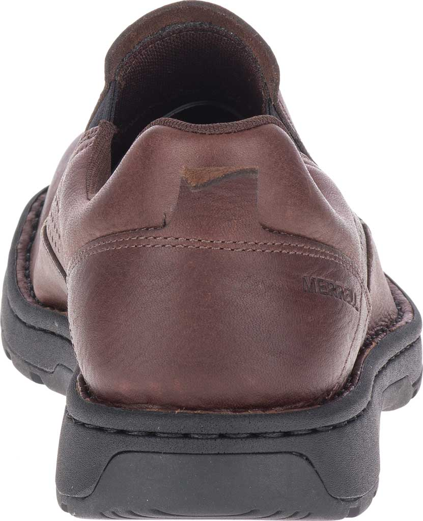 Men's Merrell World Legend 2 Moc Slip On, Chocolate Polish Full Grain Leather, large, image 4