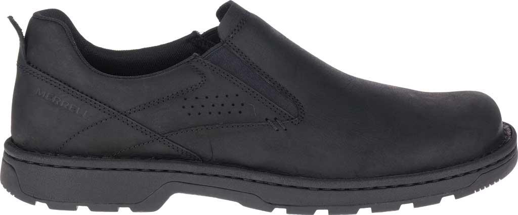 Men's Merrell World Legend 2 Moc Slip On, Black Full Grain Leather, large, image 2