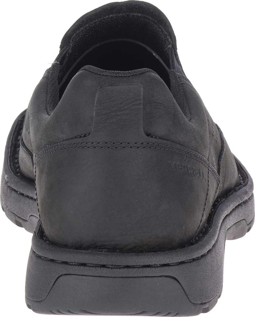 Men's Merrell World Legend 2 Moc Slip On, Black Full Grain Leather, large, image 4